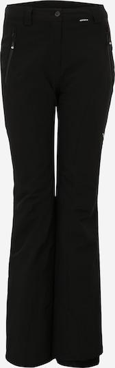 ICEPEAK Sport-Funktionshose 'Noelia' in schwarz, Produktansicht