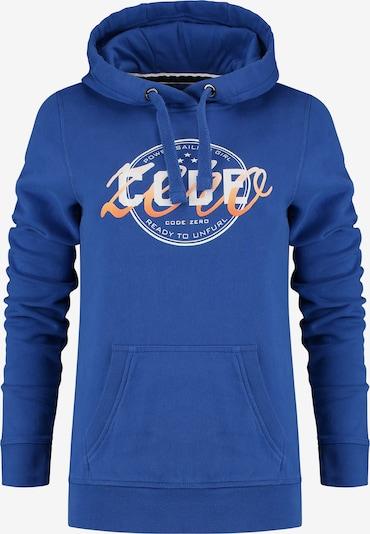 CODE-ZERO Kapuzenpullover 'Unfurl Hoody' in blau, Produktansicht