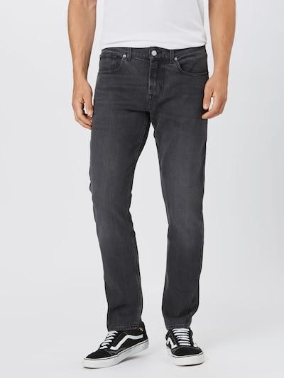 Jeans 7 for all mankind pe denim negru, Vizualizare model