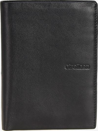 STRELLSON Porte-monnaies 'Neck Label' en noir, Vue avec produit