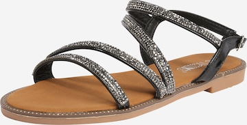 Hailys Sandale 'Sunny' in Schwarz