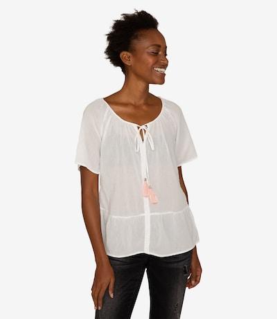 Soccx Bluse in weiß, Modelansicht
