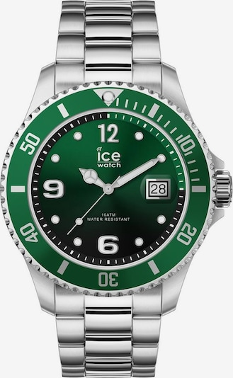ICE WATCH Uhr 'Ice Steel 16544' in grasgrün / silber, Produktansicht