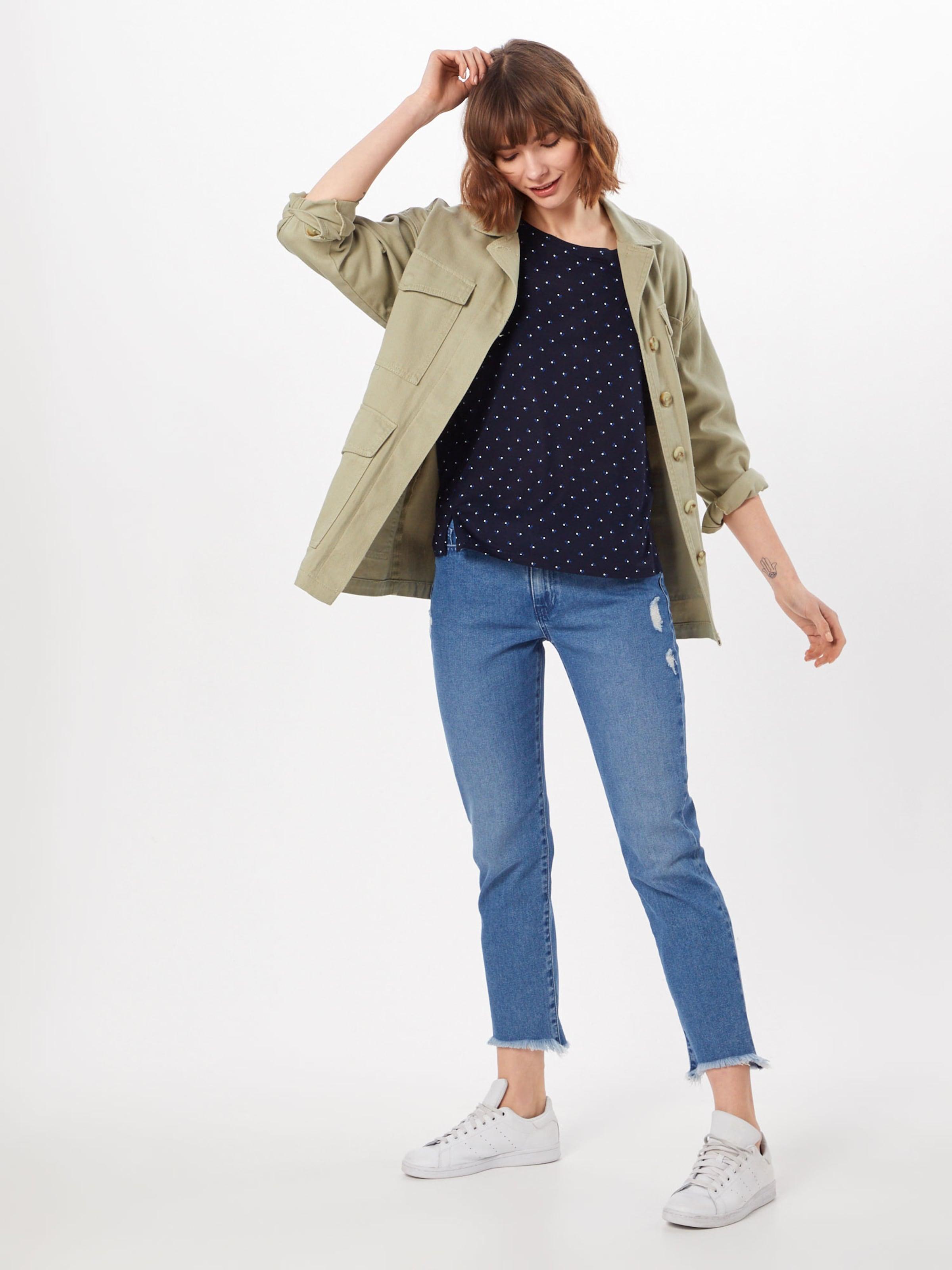 'solliana shirt En Ros' Blanc Threedots BleuFoncé Opus T EDWIH29