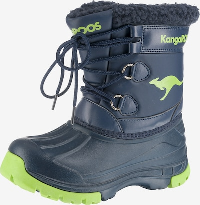 KangaROOS Winterstiefel APOL BOOT für Jungen in blau, Produktansicht
