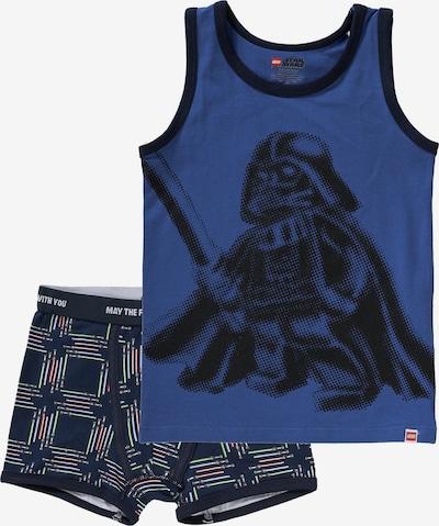 LEGO WEAR Unterwäsche Set 'STAR WARS' für Jungen in blau / dunkelblau, Produktansicht