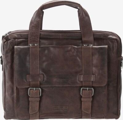Spikes & Sparrow Bronco Business Handtasche Leder 41 cm in dunkelbraun, Produktansicht