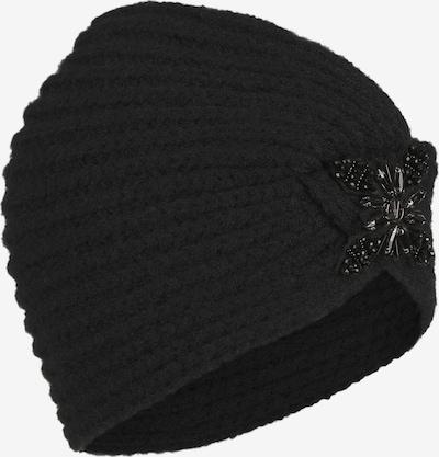 LOEVENICH Turban ' Cozy Winter ' in schwarz, Produktansicht
