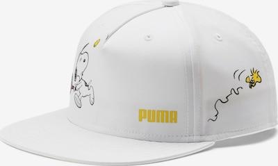 PUMA Sportmuts in de kleur Geel / Zwart / Wit, Productweergave