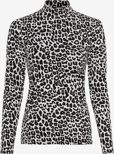 HALLHUBER Shirt in nude / schwarz, Produktansicht