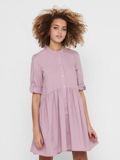 ONLY Robe-chemise 'Chicago' en rosé, Vue avec modèle