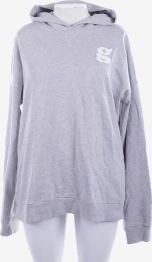 THE MERCER Sweatshirt / Sweatjacke in XL in hellgrau, Produktansicht