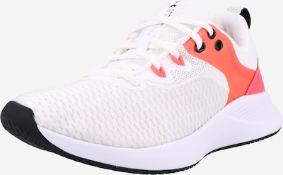 UNDER ARMOUR Спортни обувки 'Charged Breathe' в пъпеш / черно / бяло, Преглед на продукта