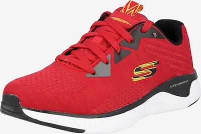 Sneaker 'Solar Fuse Kryzik' SKECHERS di colore giallo / rosso sangue / nero, Visualizzazione prodotti