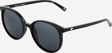 LE SPECS Sonnenbrille in Schwarz