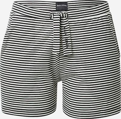 Marc O'Polo Bodywear Pyjamashorts in graphit / weiß, Produktansicht