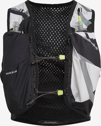 adidas Terrex Trailrunning-Weste in grau / schwarz / weiß, Produktansicht