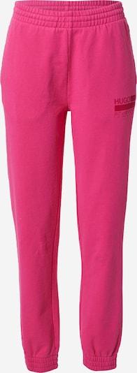 Pantaloni HUGO di colore rosa / rosso, Visualizzazione prodotti