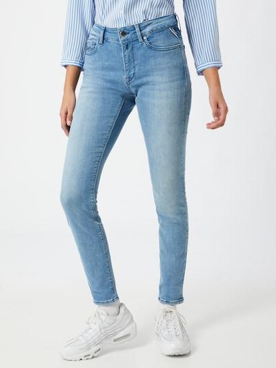 REPLAY Jeans 'LUZIEN' in de kleur Blauw, Modelweergave