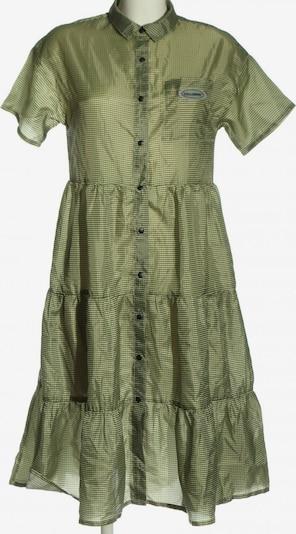 Collusion Kurzarmkleid in S in grün / khaki / weiß, Produktansicht