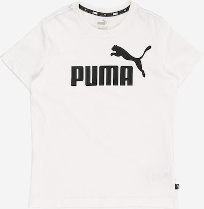 PUMA T-Shirt 'ESS' in schwarz / weiß, Produktansicht