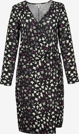 Gina Laura Kleid in grau / eosin / schwarz / weiß, Produktansicht