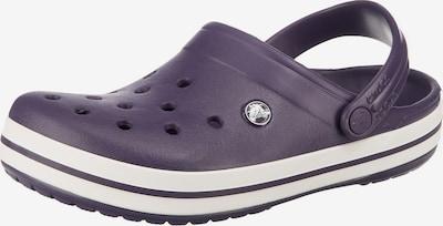 Crocs Clogs 'Crocband' in brombeer / weiß, Produktansicht