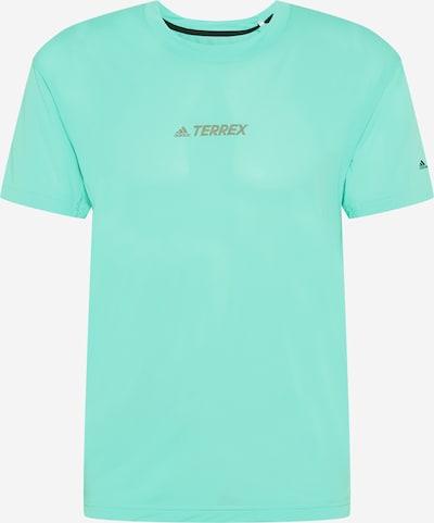 ADIDAS PERFORMANCE Koszulka funkcyjna 'Alla' w kolorze szary / miętowym, Podgląd produktu