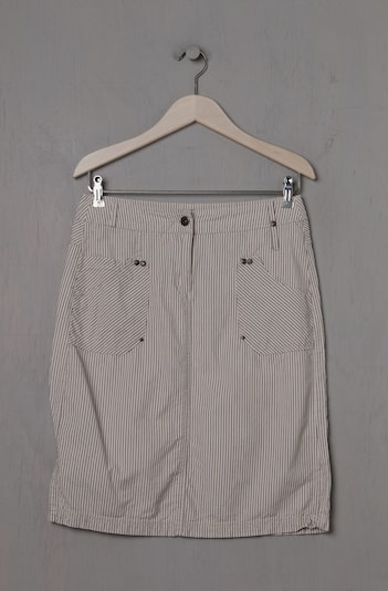 CECIL Skirt in S in Light beige / Chocolate, Item view