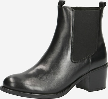 CAPRICE Chelsea Boots in Black