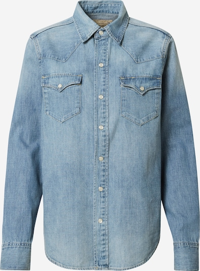 POLO RALPH LAUREN Blouse 'Apley' in de kleur Blauw denim, Productweergave