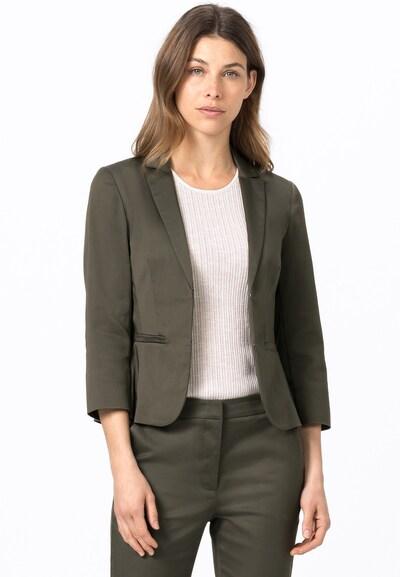 HALLHUBER Blazer 'Sofia' in dunkelgrün, Modelansicht