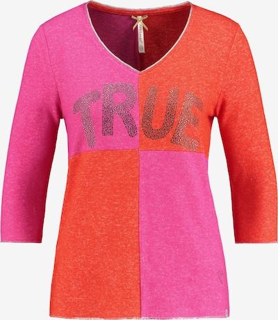 Key Largo Pullover 'CHESS' in orange / pink, Produktansicht