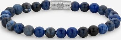 Rebel & Rose Armband in blau / silber, Produktansicht