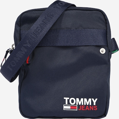 Tommy Jeans Crossbody bag 'CAMPUS' in navy / jade / red / white, Item view