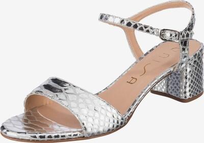 UNISA Sandale 'Gento' in silber, Produktansicht