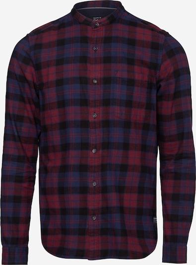 s.Oliver Košile - modrá / tmavě červená / černá, Produkt