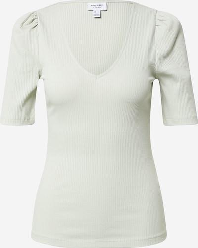 VERO MODA T-shirt 'PEACE' en gris clair, Vue avec produit