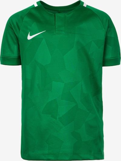 NIKE Functioneel shirt 'Challenge II' in de kleur Grasgroen / Groen gemêleerd / Wit, Productweergave
