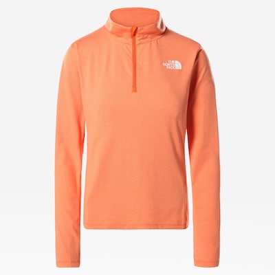 THE NORTH FACE T-shirt fonctionnel 'Riseway' en corail / blanc, Vue avec produit