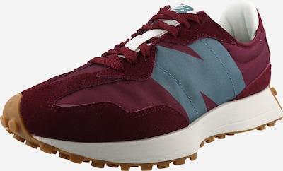 new balance Sneakers laag in de kleur Smoky blue / Wijnrood, Productweergave