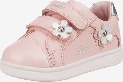 GEOX Sneaker ' DJROCK ' in pastellpink / silber / weiß, Produktansicht