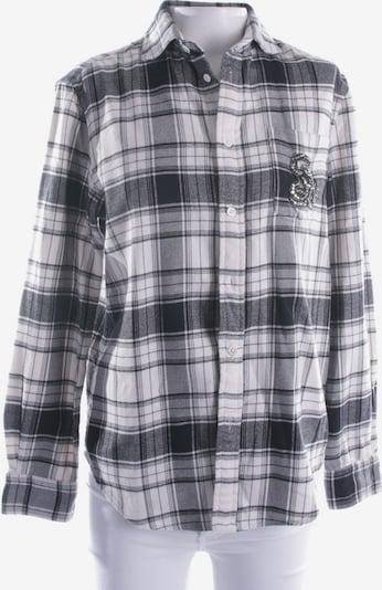 POLO RALPH LAUREN Bluse in S in schwarz / wollweiß, Produktansicht