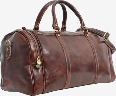 Gusti Leder Shopper 'Giuseppe' in de kleur Bruin, Productweergave