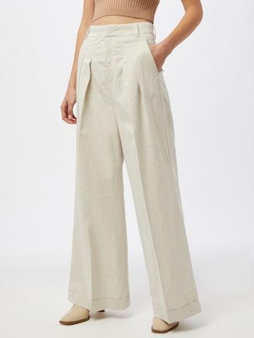 InWear Plissert bukse 'AilaI' i beige