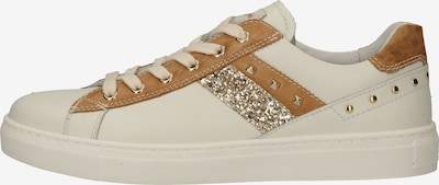 Nero Giardini Sneakers laag in de kleur Bruin / Goud / Wit, Productweergave