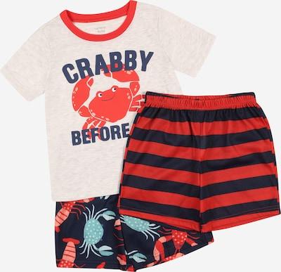 Carter's Pyžamo - námornícka modrá / svetlosivá / nefritová / lososová / ohnivo červená, Produkt