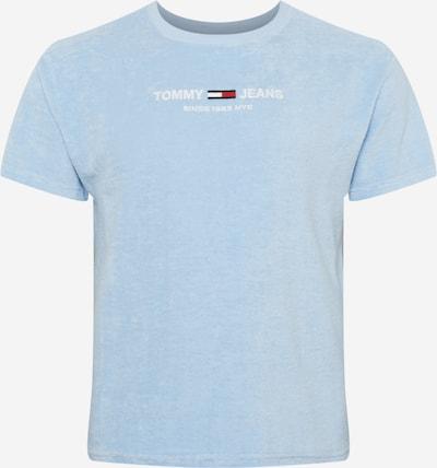 Tricou Tommy Jeans pe albastru deschis / albastru închis / roșu / alb, Vizualizare produs
