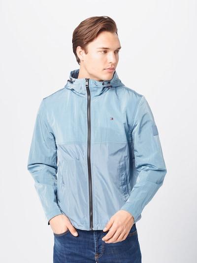 TOMMY HILFIGER Overgangsjakke i lyseblå: Frontvisning