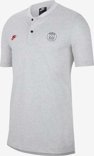 NIKE Shirt in graumeliert / weiß, Produktansicht